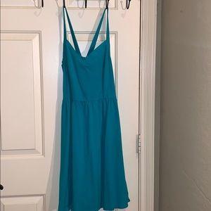 Forever21 summer cross strap dress
